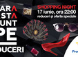 promenada coboara preturile la shopping night