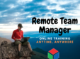 remote team manager