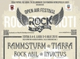 rock pe 2 roti open air festival editia a 4 a