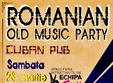 romanian old music party in cuban pub iasi