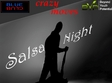 salsa night in blue night club