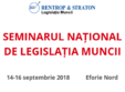 seminarul national de legislatia muncii