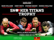snooker titans trophy 2016 la bucuresti