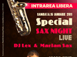 special sax night with dj lex marian sax