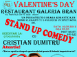 stand up comedy bran de valentine s day