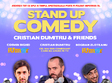 stand up comedy bucuresti sambata 15 sept