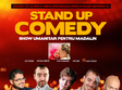 stand up comedy joi 3 noiembrie bucuresti