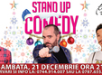 poze stand up comedy sambata 21 decembrie anti christmas edition