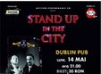 stand up in the city in iasi
