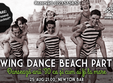 swing dance beach party veselie dans prietenie