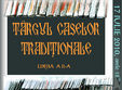 targul de case traditionale din lemn