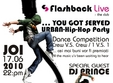 urban dance competition in club flashback live cluj