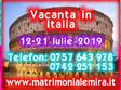 Cluj-Napoca, Vineri 12 Iulie - Duminică 21 Iulie, Vacanta Singles - Italia 12-21 Iulie 2019