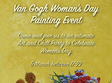van gogh woman s day painting event