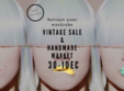 vintage sale and handmade market