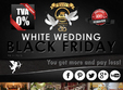 white wedding black friday