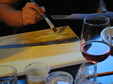 wine paint night out
