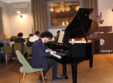 poze wine piano night at savart