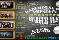 4 days of burger fest by warehouse pub live music deejay