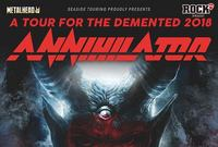 annihilator a tour for the demented