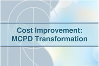 curs cost improvement
