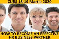 curs how to become an effective hr business partner