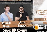 stand up comedy claudiu popa si alex serban