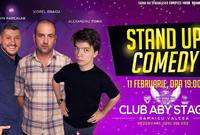 stand up comedy la aby stage bar