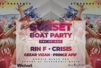 sunset boat party by techzone