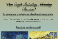van gogh painting monday 24 august