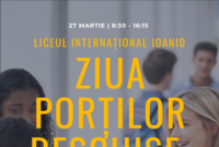 ziua portilor deschise la liceul international ioanid